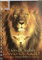 Блокнот,15*10.5,  90 листов. Lion of Judah LAMB OF GOD
